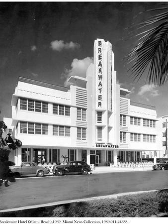 Breakwater Hotel, Miami Beach, 1939