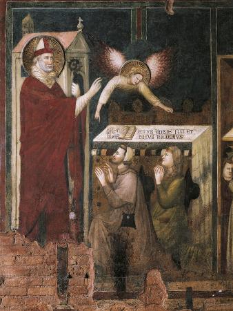 St Nicholas of Bari Promising Child Compagnone and Amata, 1320-1325