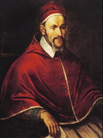 Italy, Castiglione Delle Stiviere, Portrait of Pope Paul V