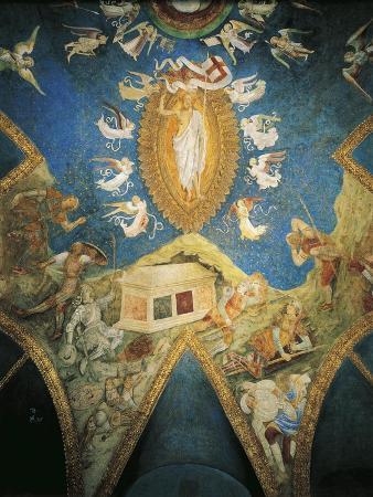 Italy, Milan, Sforza Castle, Ducal Chapel, the Risen Christ, 1473