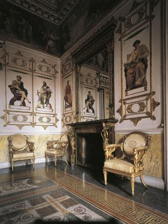 Hall of Apollo, 1835, Royal Castle of Racconigi