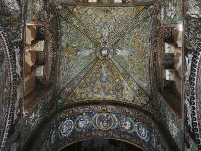 Groin Vault of the Presbytery, Basilica of San Vitale