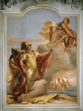 Venus Saying Farewell to Aeneas