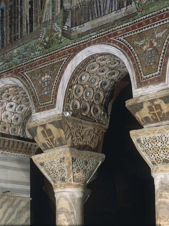 Capitals and Arches, Basilica of San Vitale