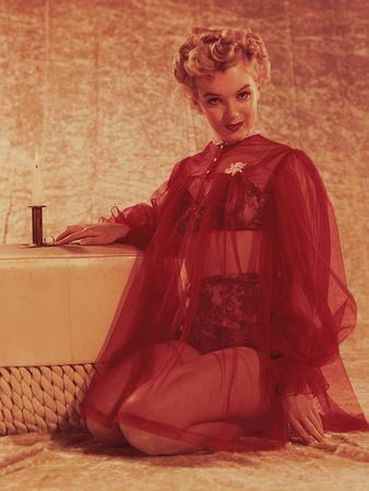 Marilyn Monroe, Print from the Archives of 'Silver Screen' Magazine