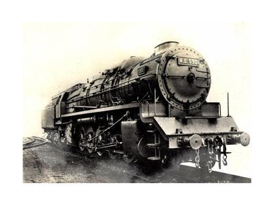 Eisenbahn, Frankreich,Dampflok,G No 13, Type Santa Fé