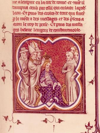 Charlemagne Crowned Emperor by Pope Leo III