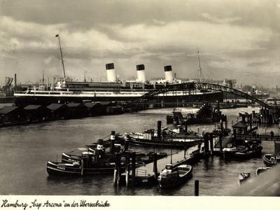 HSDG, Dampfschiff Cap Arcona, Überseebrücke