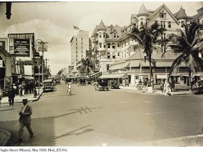 Flagler Street, Miami, May 1924