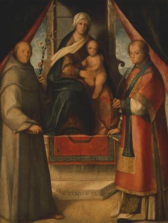 Madonna and Saints, 1518