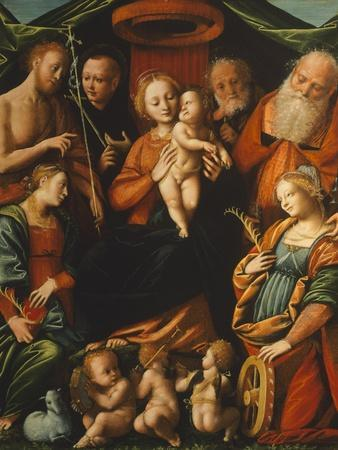 Madonna with Child and Saints