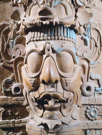 Polychrome Pottery Incense Burner Originating from Mexico