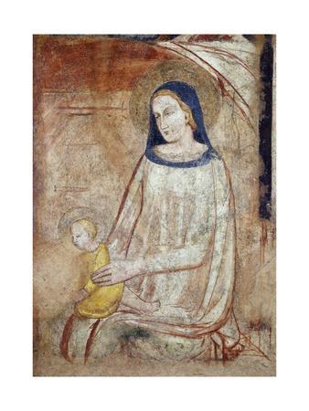 Madonna and Child, Basilica of Sant'Eustorgio, Milan, Italy
