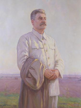 Good Morning Motherland, Portrait of Joseph Stalin