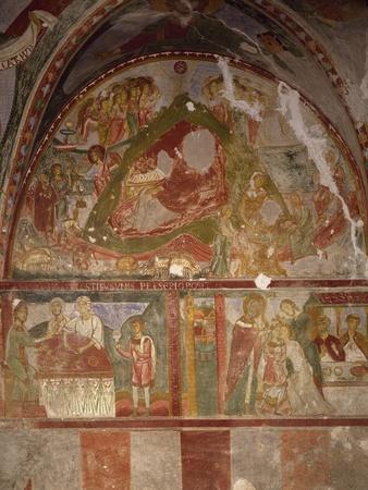 Frescoed Crypt of Church of Santissima Annunziata, Minuto