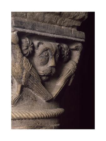 Capital Detail, Crypt of Basilica of San Nicola Di Bari, 1087, Apulia, Italy, 11th Century