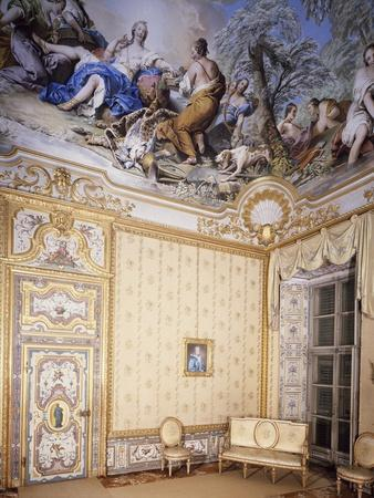 Queen's Bedroom in Castle, Stupinigi's Little Hunting Palace