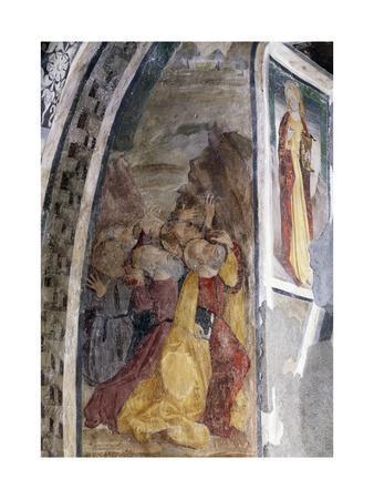 Virgin Mary and Apostles