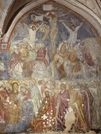 Crucifixion of Cloister of Amalfi Cathedral, Campania, Italy