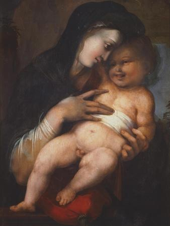Madonna and Child, by Alonso Berruguete