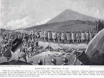 Spartacus on Vesuvius 73Bc