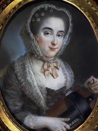 Portrait of Lady with Gironda