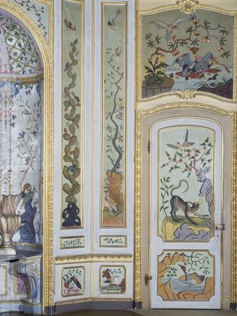 Detail from Games Room, Stupinigi's Little Hunting Palace
