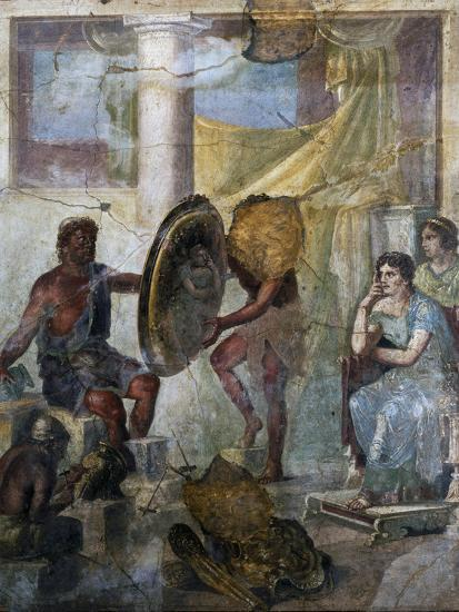 b6b5f0e154 Thetis and Hephaestus, Fresco in 3rd Pompeian Style, Uncovered in Pompeii  Photographic Print at AllPosters.com