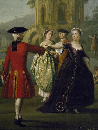 Genre Scene, Second Half of 18th Century, Detail
