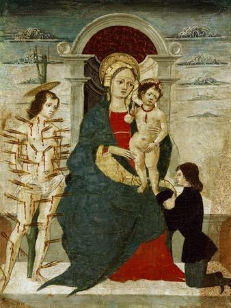 Madonna and Child with Saints, Painting