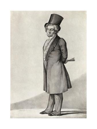 Illustration of Musician Beethoven in Formal Attire