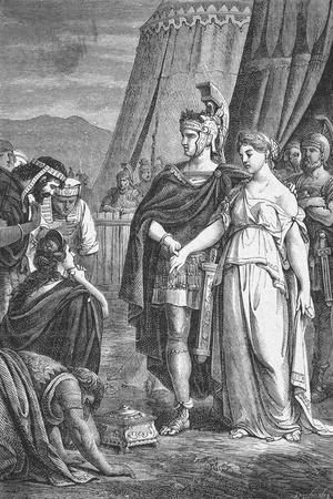 Scipio Receiving Gifts