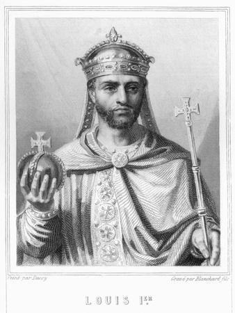 Louis I by Auguste II Jean Baptiste Marie Blanchard