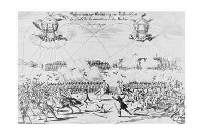 Illustration of Imaginary Use of Armed Balloons