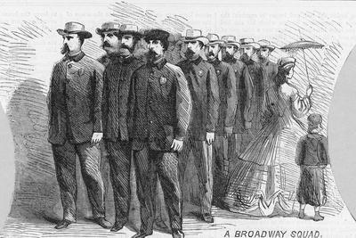 A Broadway Squad Illustration