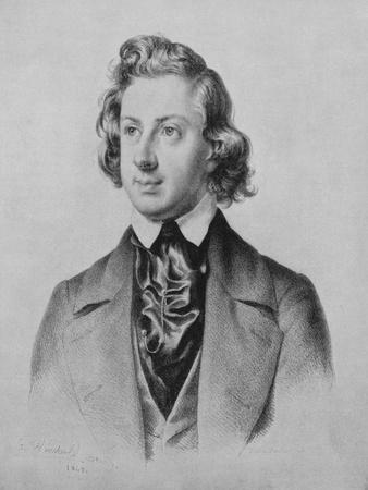Composer Niels Wilhelm Gade