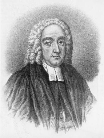 Illustrated Portrait of Jonathan Swift
