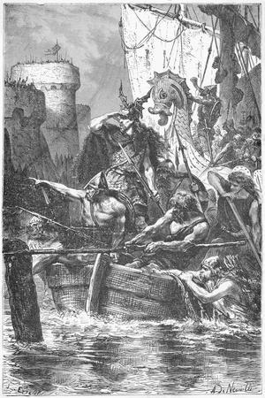 Barbarians Invading Paris