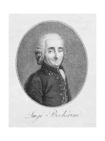 Luigi Boccherini Engraving