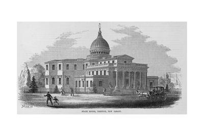 State House, Trenton, New Jersey.