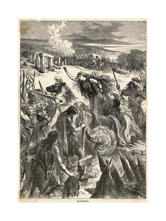 Boadicea Illustration
