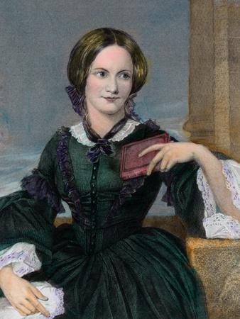 Portrait of Authoress Charlotte Bronte