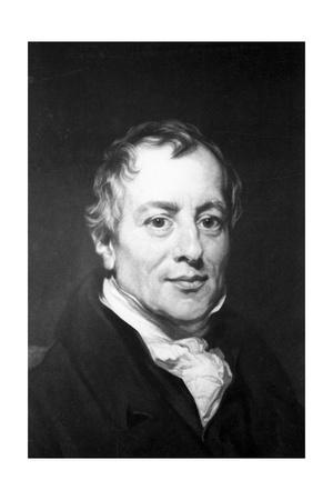 Engraving after David Ricardo by Thomas Phillips