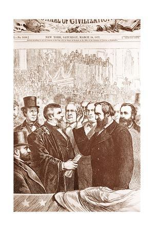 Rutherford B. Hayes Accepts Nomination