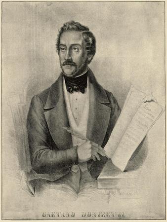 Italian Composer Donizetti