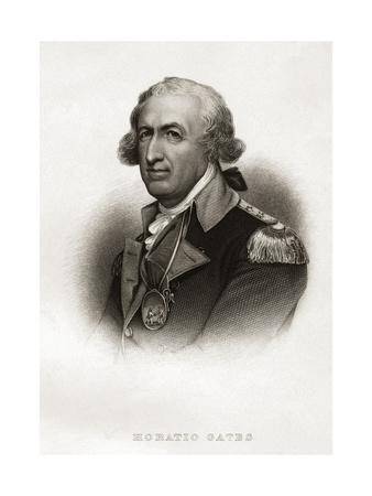 Portrait of Horatio Gates