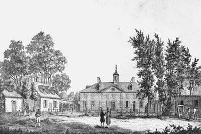 Exterior of George Washington's Estate