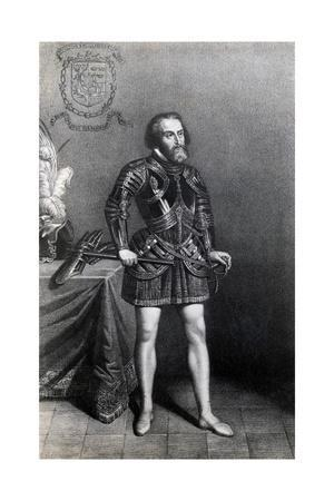 Illustration of Conquistador Cortez