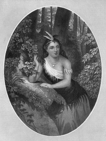 Portrait of Princess Pocahontas