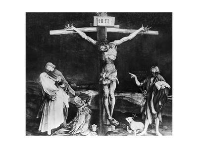 Crucifixion from the Isenheim Altarpiece by Matthias Grunewald